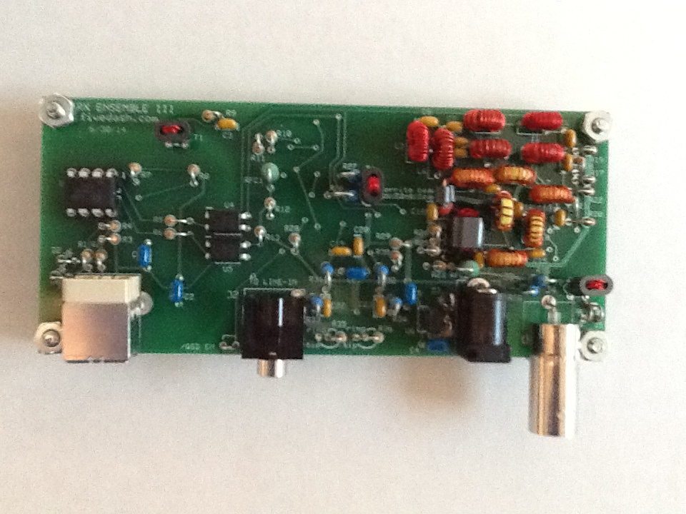 SoftRock RX Ensemble III HF Receiver Kit